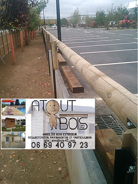 Atout bois cloture bois metal buchelay parking 11 19 4