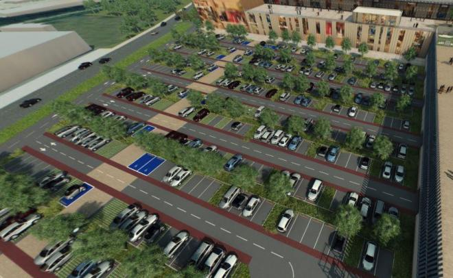 Parking 3d steel st etienne
