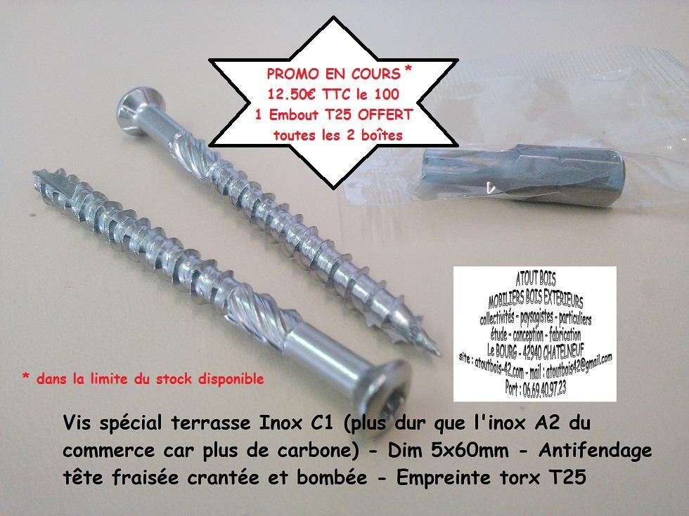 Promo 17 07 17 vis 5x60mm inox c1
