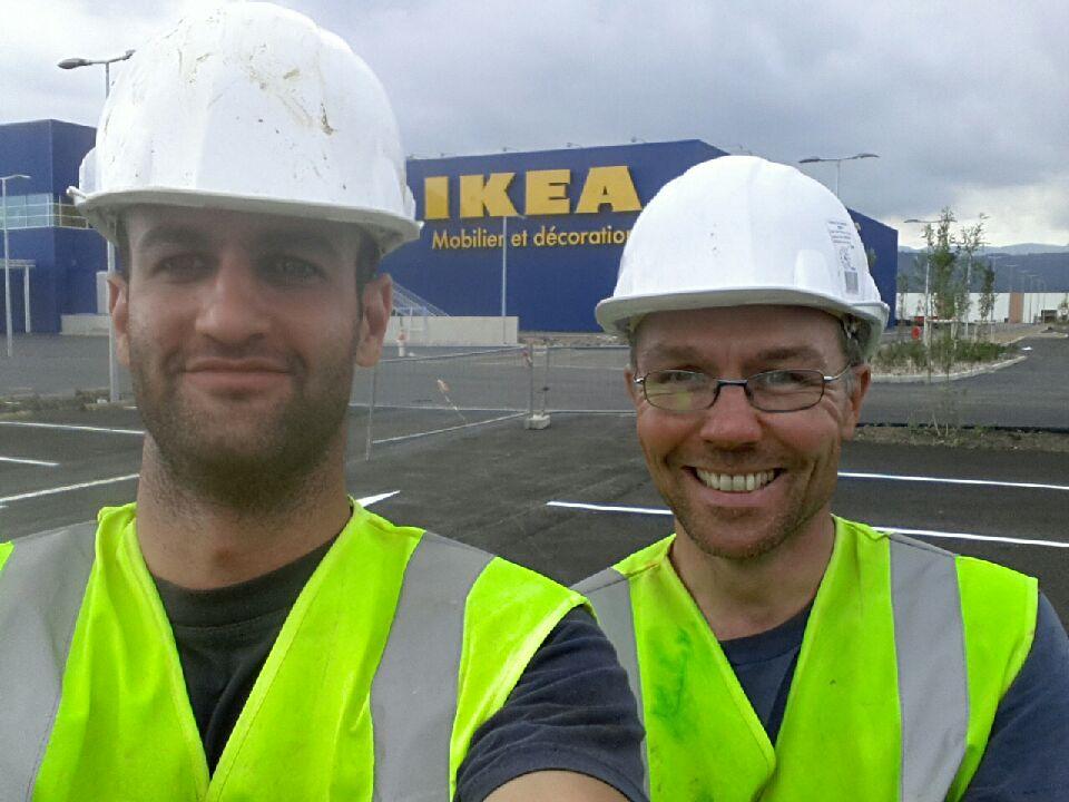 Selfy fin chantier ikea 11 07 14